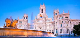 Madrid for £32.49 or less, Jan >
