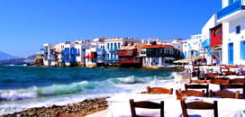 Mykonos for £32.92 or less, Aug >