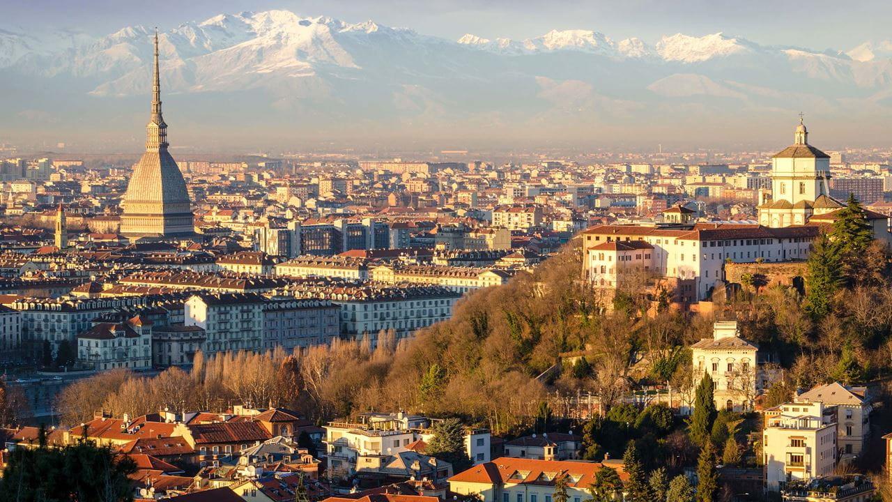 Flug München Turin