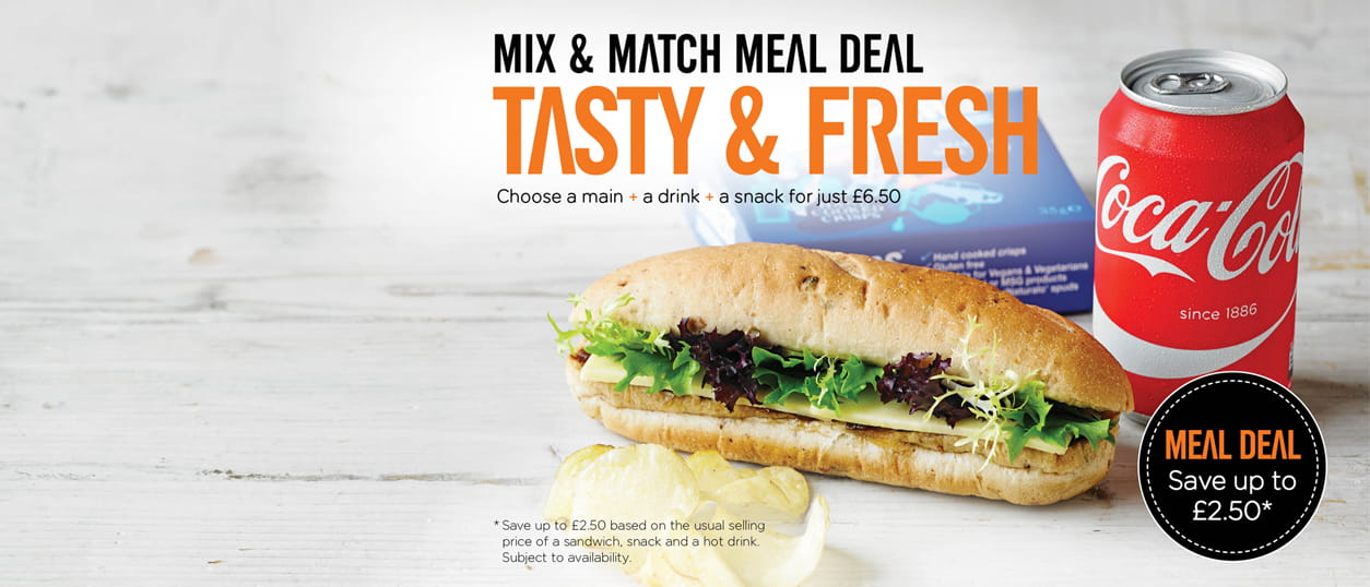 Mix and Match Meal Deal - Tasty and Fresh