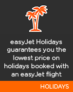 easyJet holidays guarentees you the lowest price on holidays booked with an easyJet flight